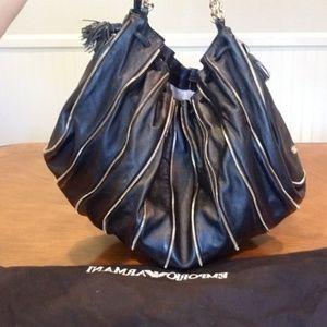 Emporio armani leather purse